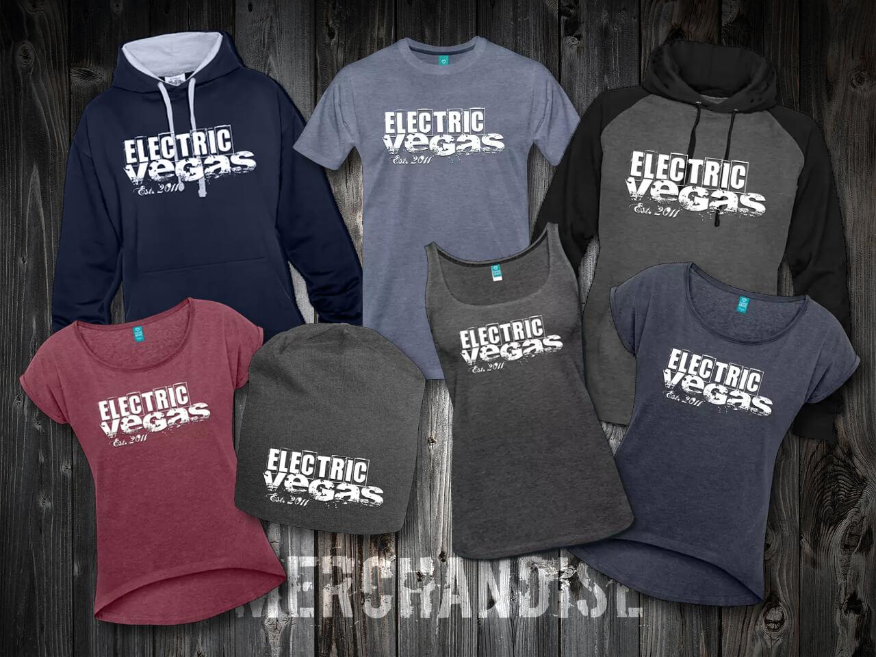 Electric Vegas Merchandise 2018